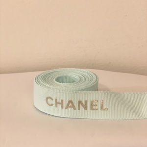 Authentic limited addition Chanel ribbon